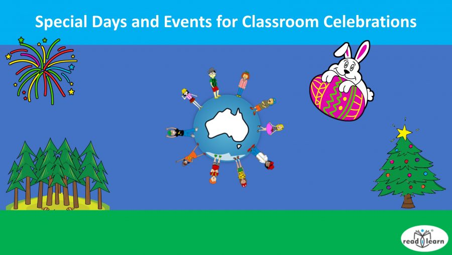 Special Days and Events for Classroom Celebrations