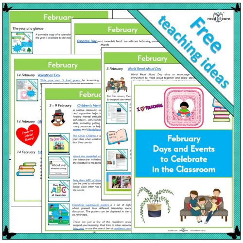 February Days and Events to Celebrate in the Classroom
