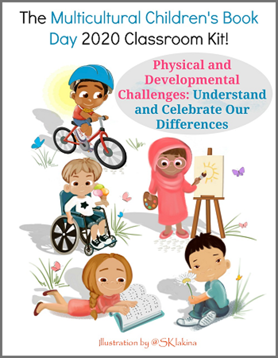Multicultural Children's Book Day Classroom kit
