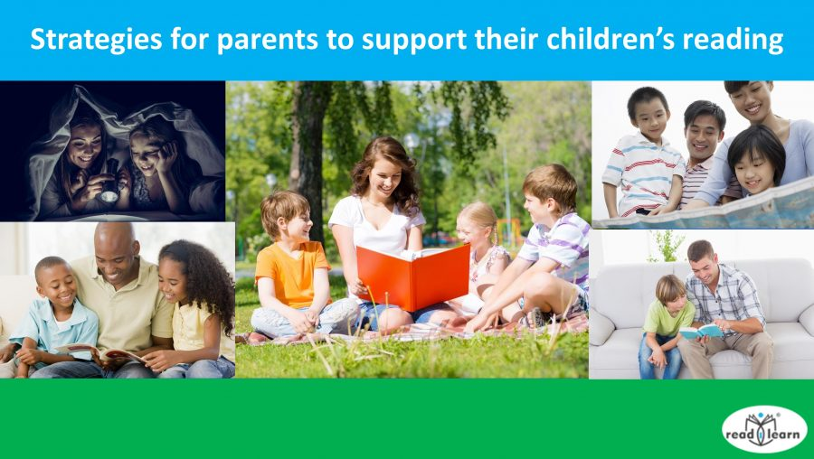 Strategies for parents to support their children's reading