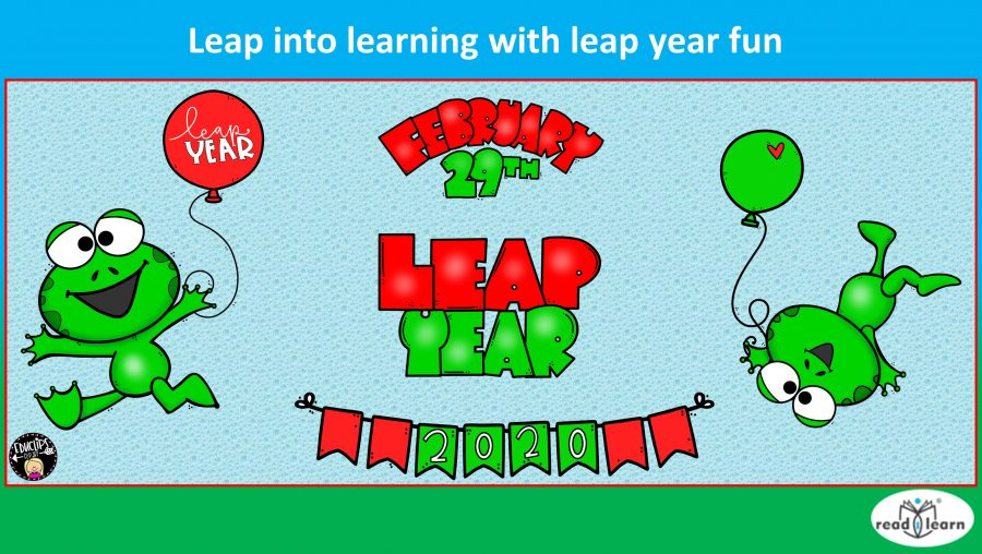 Leap into learning with leap year fun