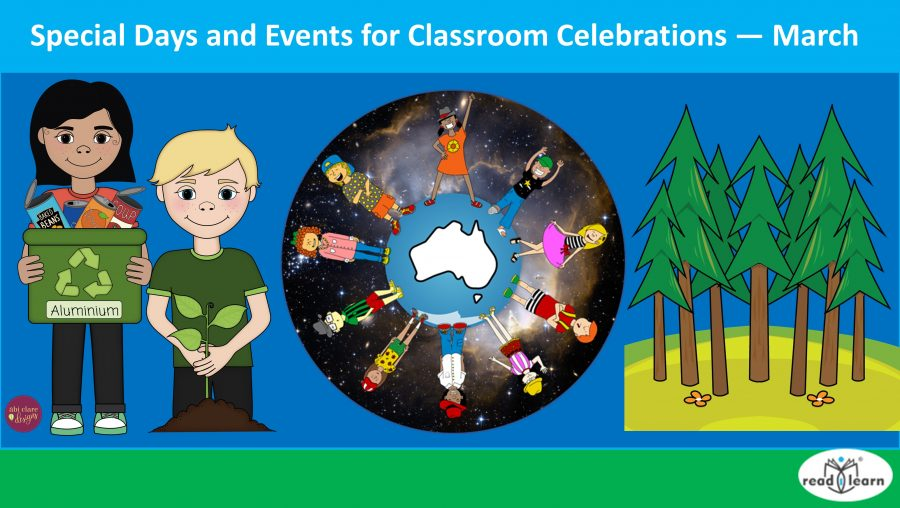 Special Days and Events for Classroom Celebrations — March