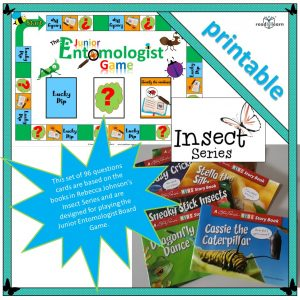 The Insect Series Question Cards for the Junior Entomologist Game