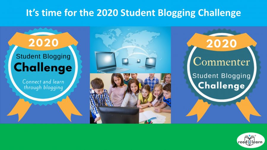 It's time for the 2020 Student Blogging Challenge