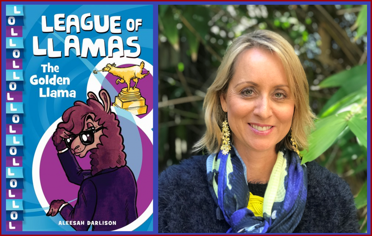 The Golden Llama by Aleesah Darlison - teaching ideas