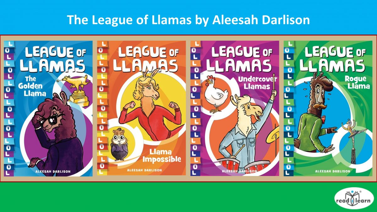 The League of Llamas by Aleesah Darlison