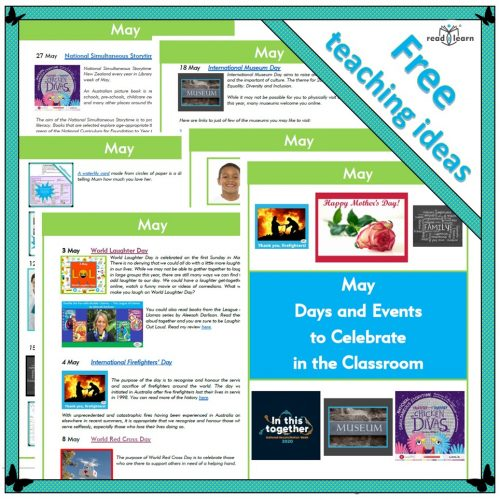 May Days and Events to Celebrate in the Classroom