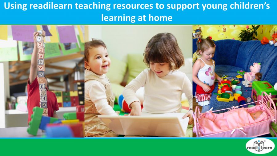 Using readilearn teaching resources to support young children's learning at home nc