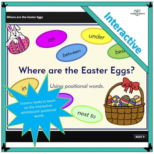 Where are the Easter eggs - interactive lesson