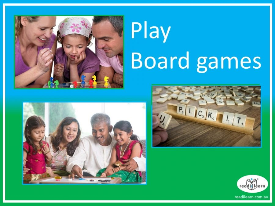 playing board games is fun and great for learning