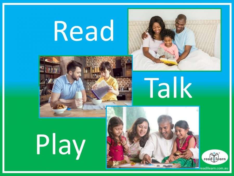 read talk play - the best way to help children learn