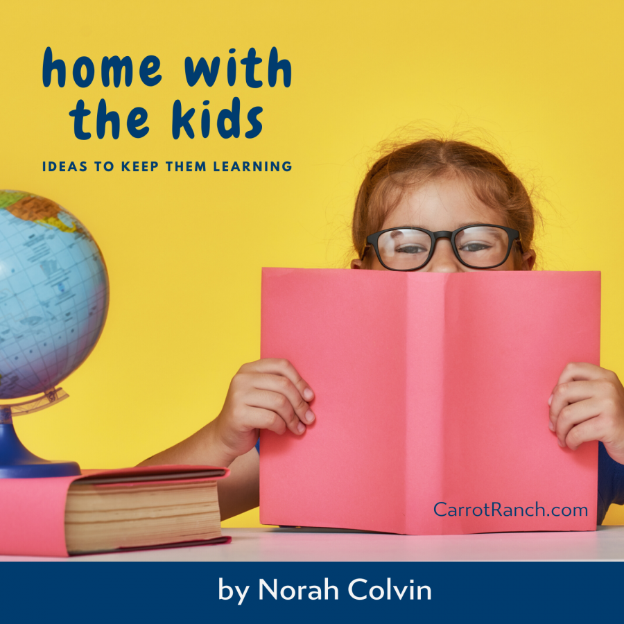 home with the kids - ideas to keep them learning