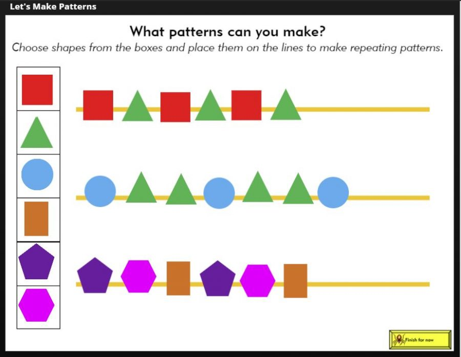 Let's make patterns