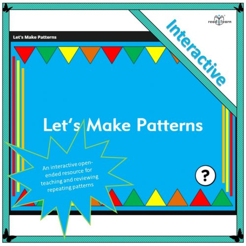 Let's make repeating patterns