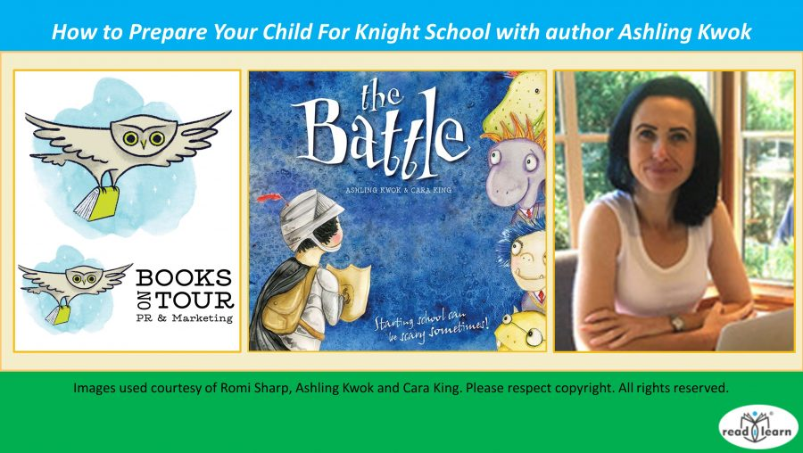 How to Prepare Your Child For Knight School with author Ashling Kwok.