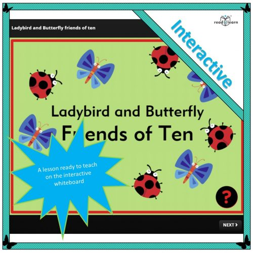 Ladybird and Butterfly Friends of Ten