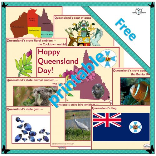 Queensland Day Posters