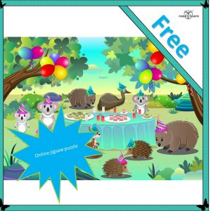 Little Koala's Party Jigsaw Puzzle