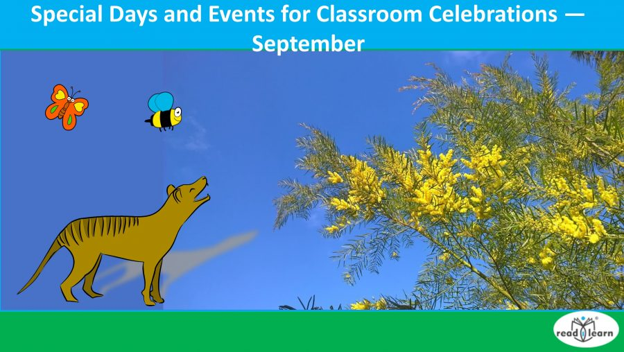 Special Days and Events for Classroom Celebrations — September