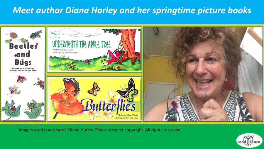 Meet author Diana Harley and her springtime picture books