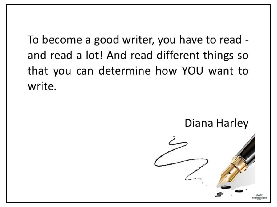 Diana Harley on Writing
