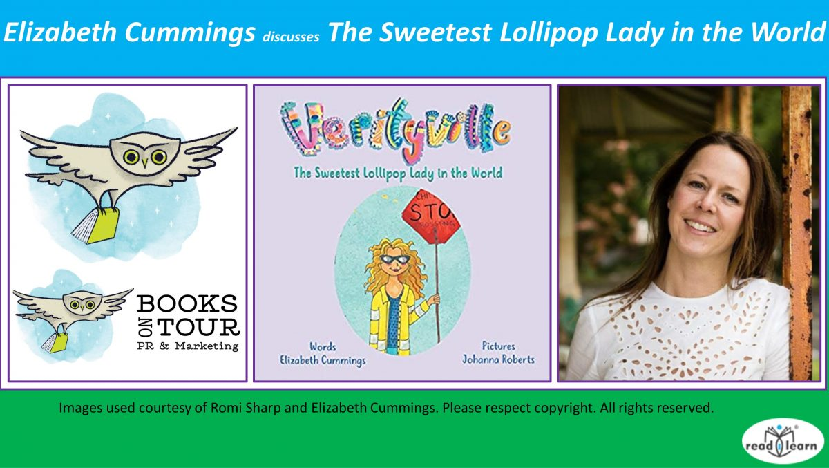 Elizabeth Cummings Discusses The Sweetest Lollipop Lady in the World