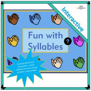 teaching children about syllables