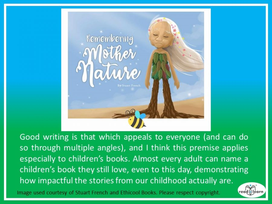 Stuart French discusses Remembering Mother Nature