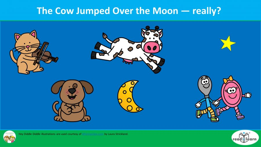 The Cow Jumped Over the Moon - Really