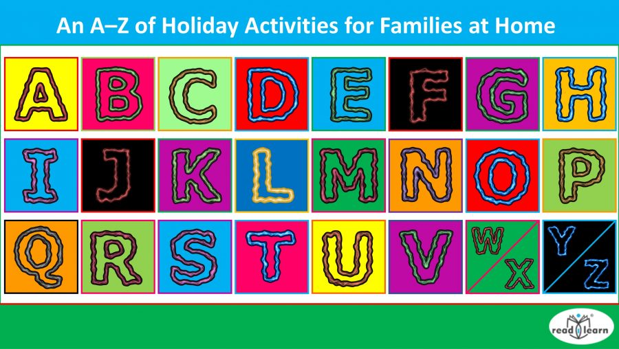 A-Z of fun family activities for the holidays