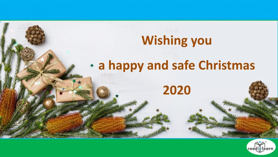 Wishing you a happy and safe Christmas 2020