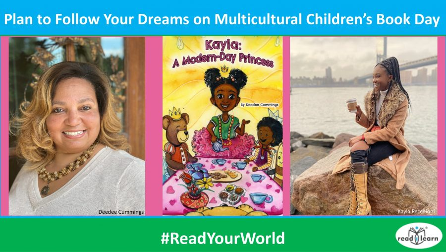 Plan to Follow Your Dreams on Multicultural Children's Book Day with Kayla a Modern-Day Princess