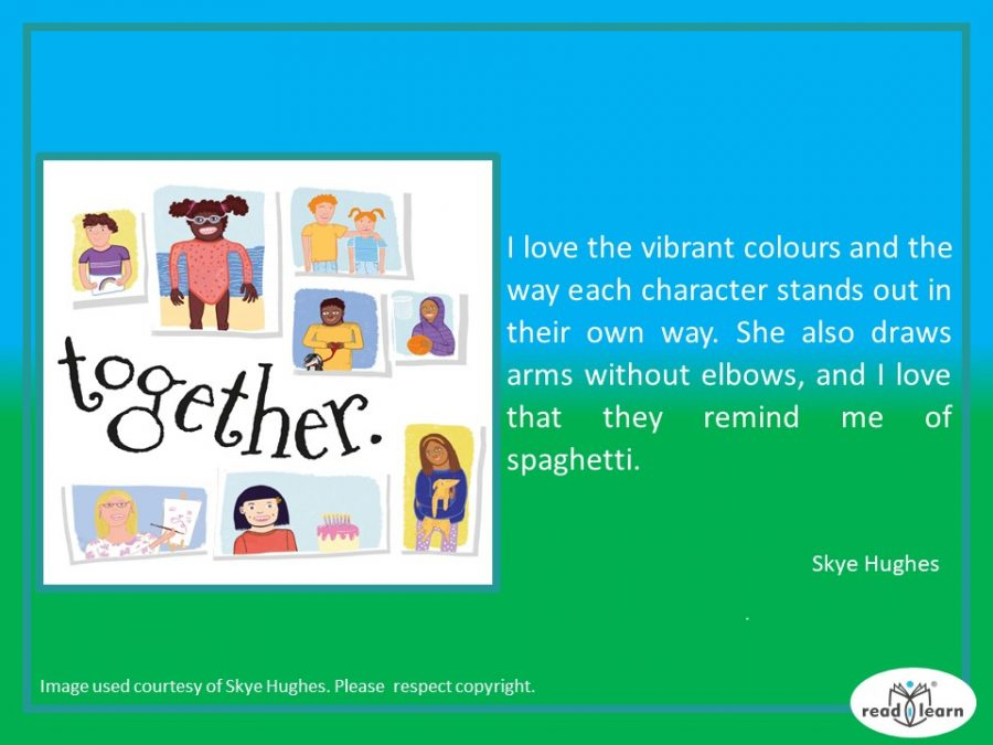 Skye Hughes We're All in This Together inteview on readilearn