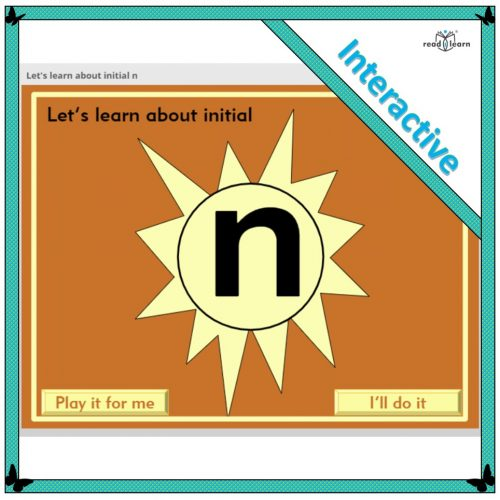 Let's learn about initial n