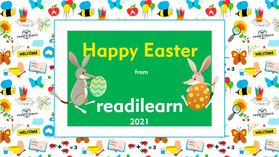 Happy Easter from readilearn 2021
