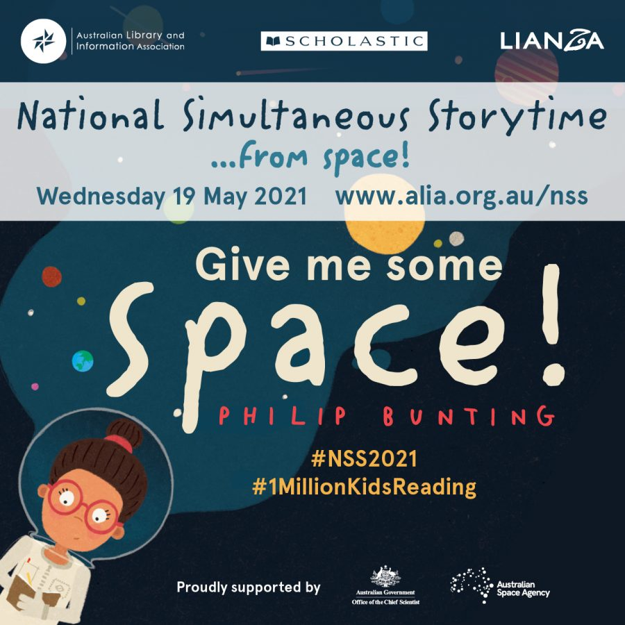 National Simultaneous Storytime from space 2021
