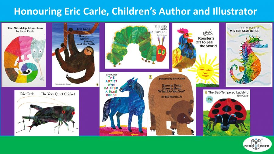 Honouring Eric Carle, Children's Author and Illustrator