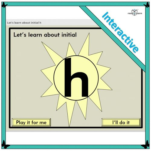Let's learn about initial h