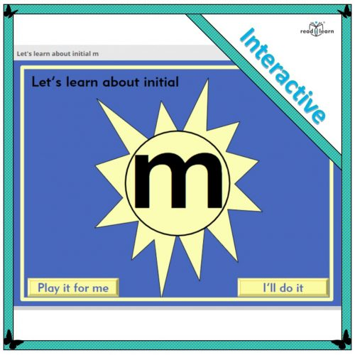 Let's learn about initial m