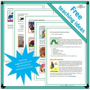 Ten picture books by Eric Carle