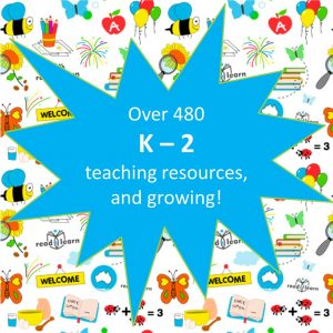 subscribe to readilearn for over 480 teaching resources for the first three years of school