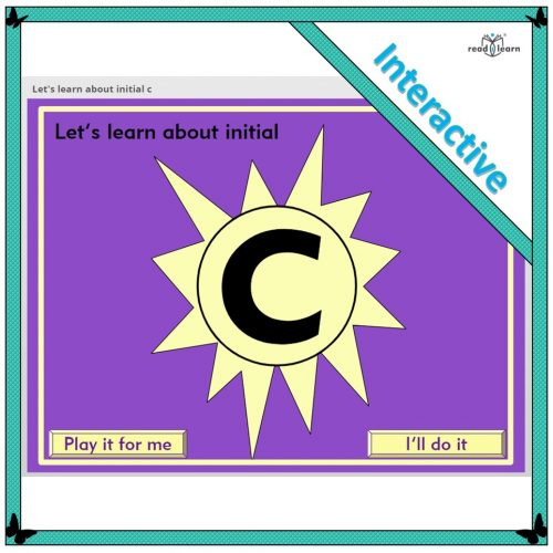 Let's learn about initial c