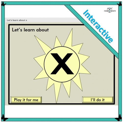 Let's learn about x