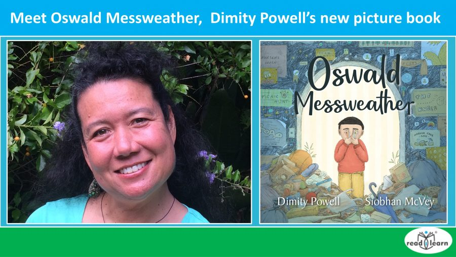 Meet Oswald Messweather a delightful new picture book by Dimity Powell