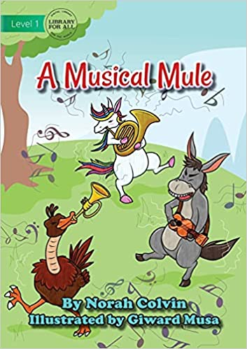 A Musical Mule by Norah Colvin