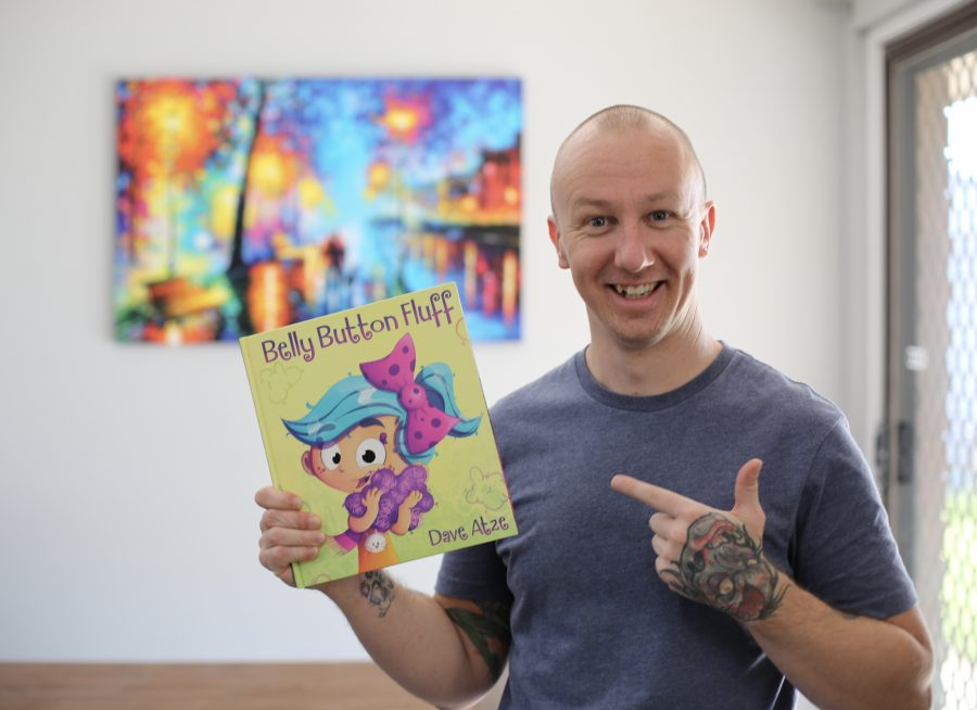 Dave Atze, author and illustrator