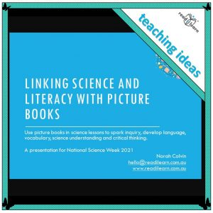 Using Picture Books In Science Lessons
