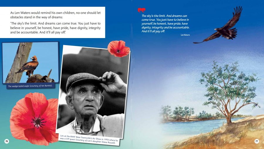 Australia Remembers quote by Len Waters - The Sky's the limit